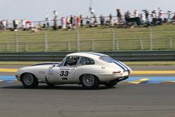 #33 Jaguar E Type 1963: Jean-Marc Merlin, Franck Augis