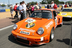 #62 Porsche 911 RSR 3,0l 1975: Luke Bullitt, Hans Wagner