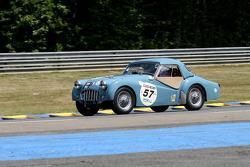 #57 Triumph TR3, 1956: Rod Begbie, Stephen Skinner