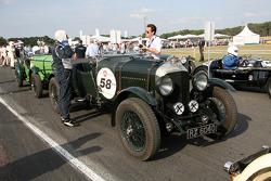 #58 Bentley 4,5L Le Mans 1930: Olivier du Boucheron, Anne du Boucheron, Edouard du Boucheron, Alexandra du Boucheron
