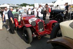 #66 Alfa romeo 8C 1935: Nicolas d'Ieteren, Jean-Pierre Lecou