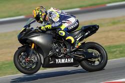 Valentino Rossi, Fiat Yamaha Team primer test después de su accidente