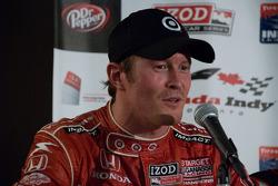 Persconferentie: Scott Dixon, Target Chip Ganassi Racing