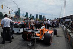Car of Mario Romancini, Conquest Racing