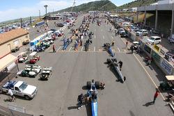 Les tribunes du Bandimer Speedway, Morrison, Colorado