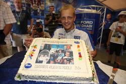Mikko Hirvonen celebrates his 30th birthday