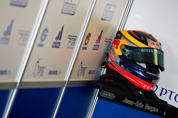 Crash helmet of Jean-Eric Vergne