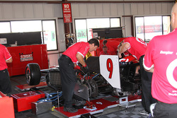 Target Chip Ganassi Racing team members at work