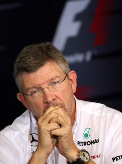 Friday press conference: Ross Brawn, Team Principal, Mercedes GP Petronas