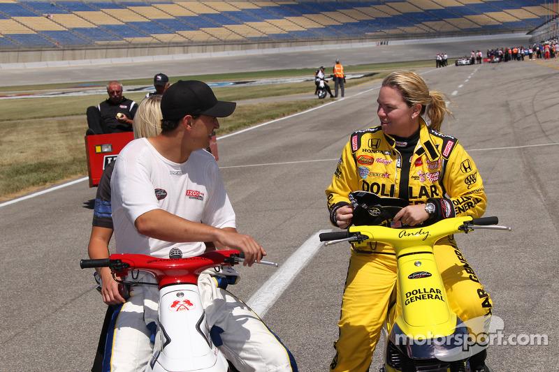 Graham Rahal, Sarah Fisher Racing and Sarah Fisher, Sarah Fisher Racing