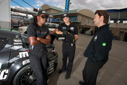 Jonathan Bomarito with SpeedSource team members