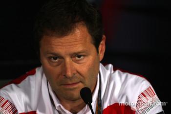 Ferrari's Technical Director Aldo Costa