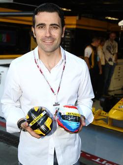 Indycar driver Dario Franchitti