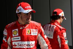 Fernando Alonso, Scuderia Ferrari, Felipe Massa, Scuderia Ferrari