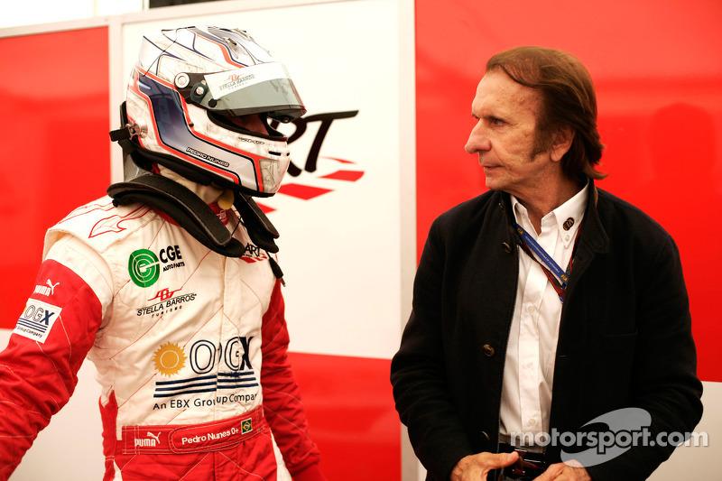 Pedro Nunes and Emerson Fittipaldi