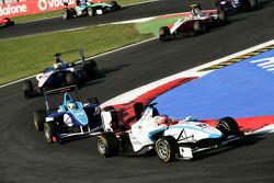 Mirko Bortolotti leads Roberto Merhi and Nico Muller