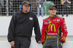 Jamie McMurray, Earnhardt Ganassi Racing Chevrolet with crew chief Kevin Manion