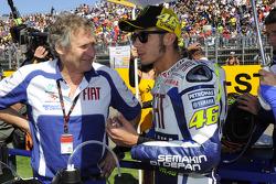 Valentino Rossi, Fiat Yamaha Team, et Jeremy Burgess