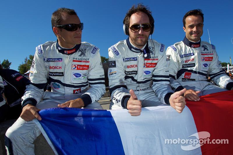 Stéphane Sarrazin, Franck Montagny en Pedro Lamy