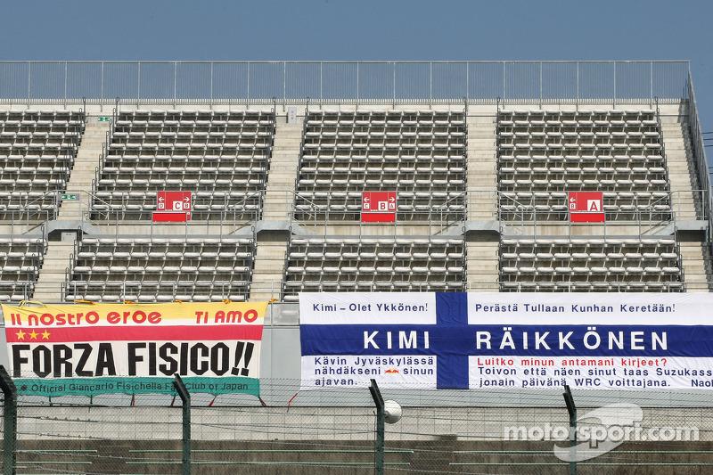 Les fans de Kimi Räikkönen