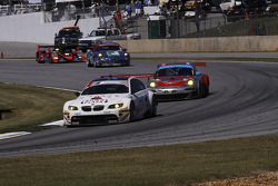 #92 BMW Rahal Letterman Racing Team BMW M3 GT: Bill Auberlen, Tom Milner, Dirk Werner