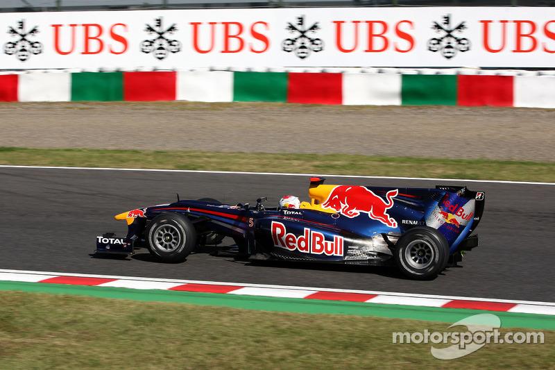 2010 - Suzuka: Sebastian Vettel, Red Bull-Renault RB6