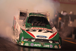 Ashley Force Hood, burnout in 2010 Castrol GTX Ford Mustang