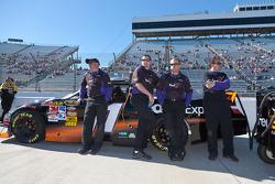 Joe Gibbs Racing Toyota crew members for Denny Hamlin