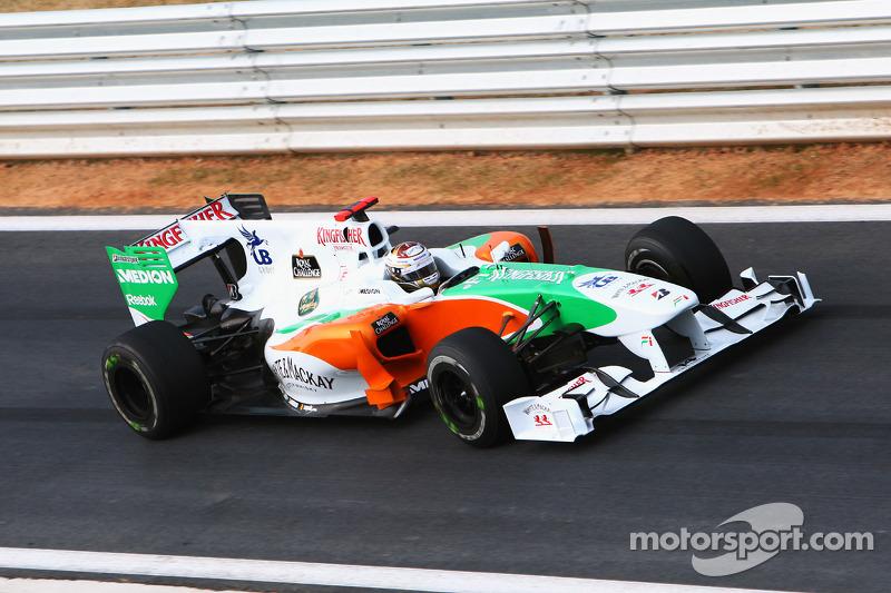 Adrian Sutil, Force India F1 VJM03