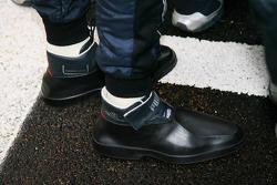 Sebastian Vettel, Red Bull Racing boots