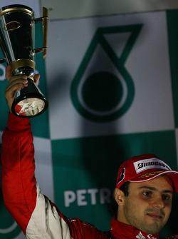 Podium: 3de Felipe Massa, Scuderia Ferrari