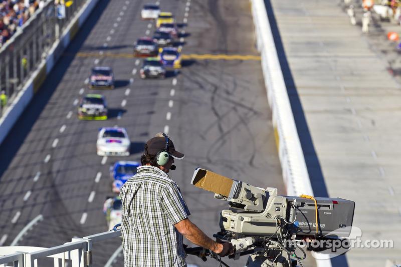 Camarógrafos trabajando