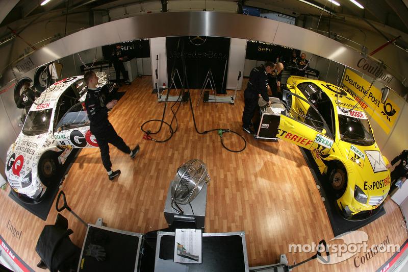 Team garage Mücke Motorsport