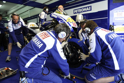 Fiat Yamaha team members at work