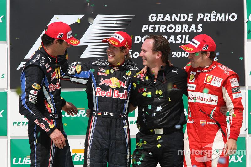 Fernando Alonso, 3º en el GP de Brasil 2010