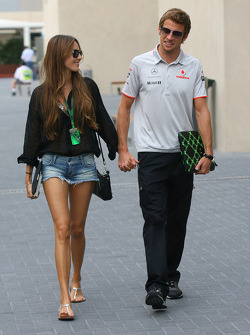 Jessica Michibata girlfriend of Jenson Button