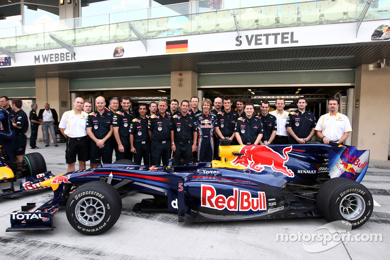 Sebastian Vettel, Red Bull Racing en team