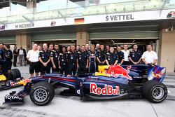 Sebastian Vettel, Red Bull Racing and his team