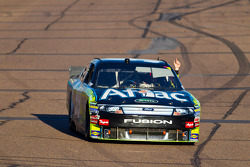 Race winner Carl Edwards, Roush Fenway Racing celebrates