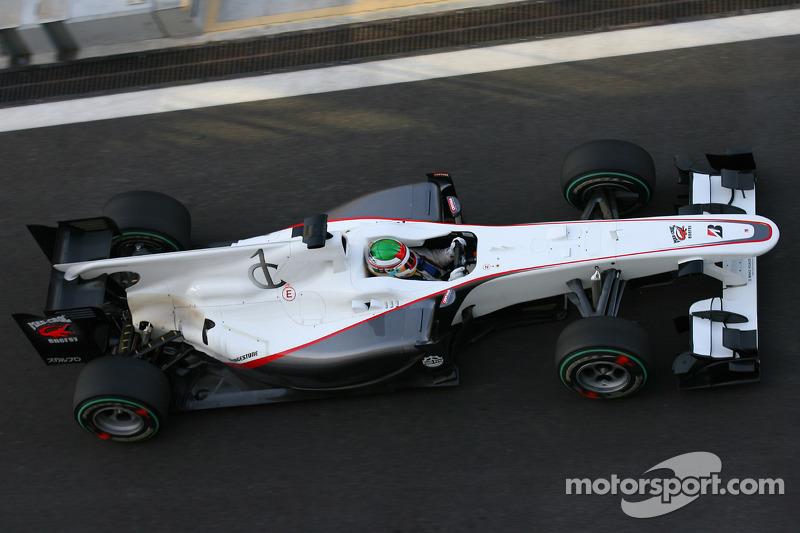 Sauber C29 von 2010