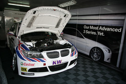 Auto van Andy Priaulx, BMW Team RBM, BMW 320si