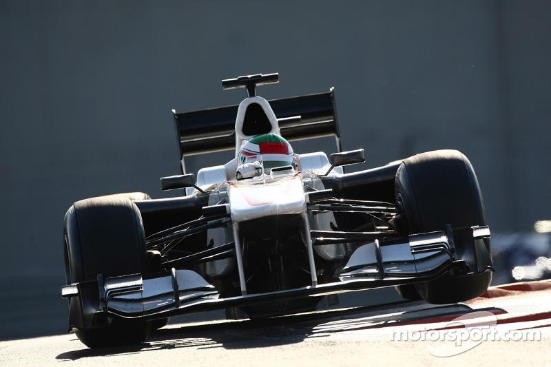 Листопад 2010 - Серхіо Перес, BMW Sauber C29 Ferrari