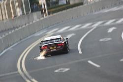 Funkenflug: Oliver Jarvis, Audi Sport Team Abt, Audi A4 DTM 2009