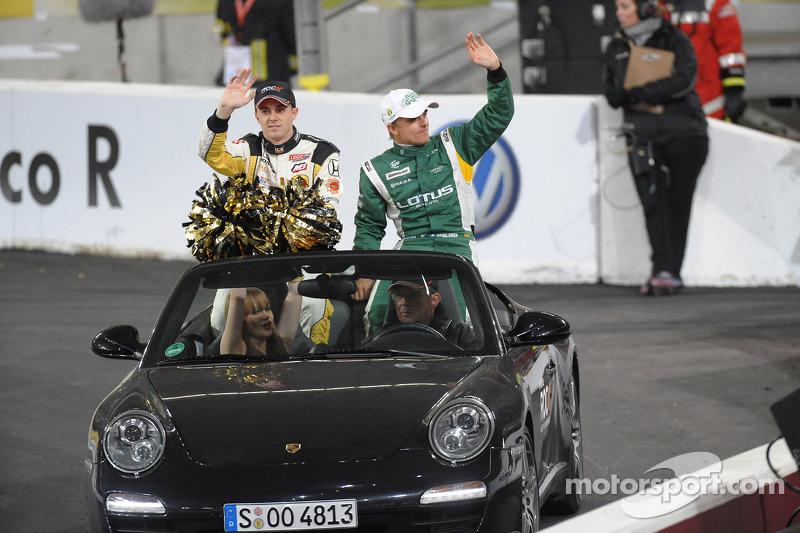 Bertrand Baguette and Heikki Kovalainen