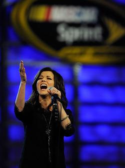 Singer Martina McBride performs