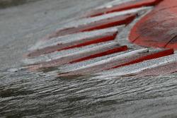 Rain on the track