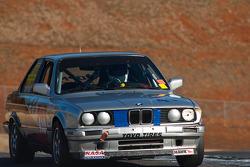#410 OPM Autosports 1989 BMW 325is sil/blk/: Stephen DeVinney, Ryan Downton, Tom Fowler