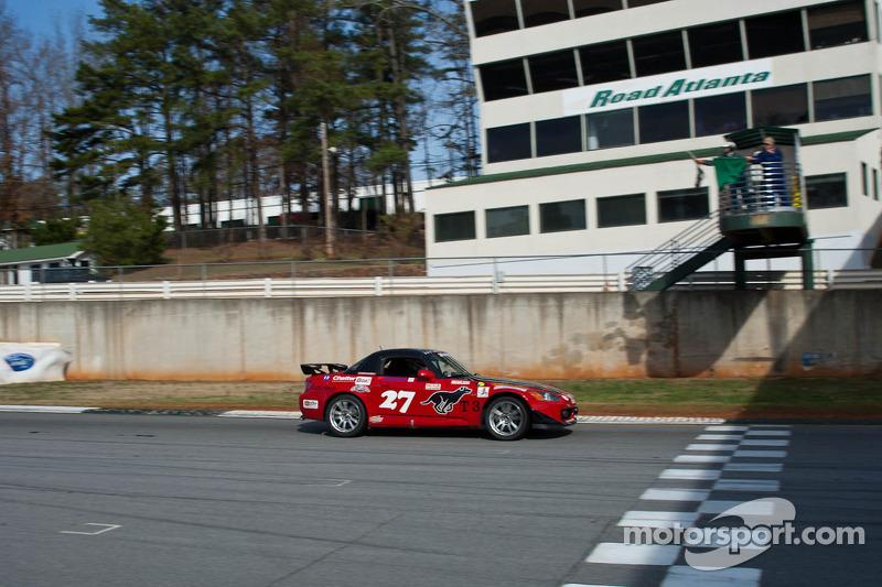 #27 Black Dog Racing 2001 Honda S2000 red/blac: Ted DeVit, Myra DeVit, Timothy Myers, Mike Kramer