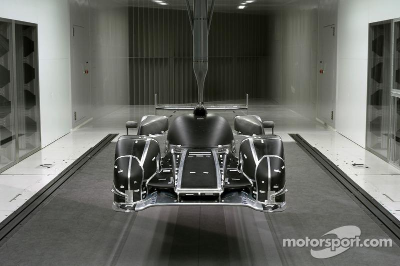 2011 Audi R18 TDI, windtunnel