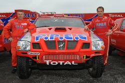 Team Dessoude: rijder Christian Lavieille en corijder Jean-Michel Polato